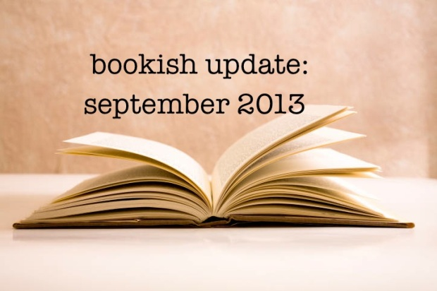 bookish updates sep 2013