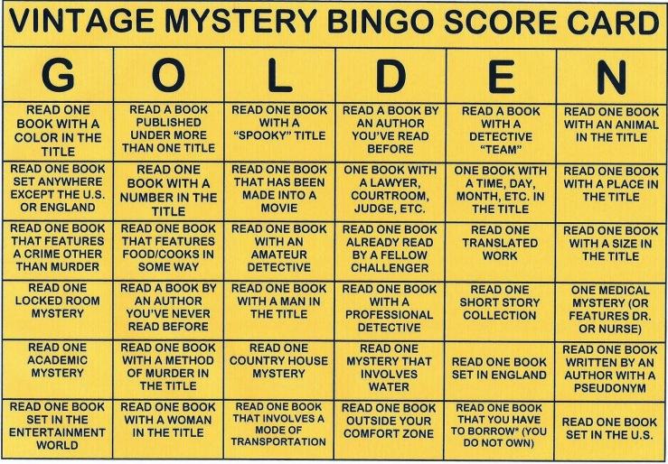 Vintage Golden Card