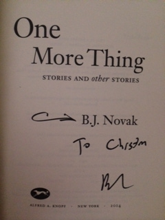 2:8:14 signed one more thing