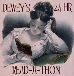 24hr readathon girl reading