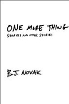 One More Thing-Stories and Other Stories