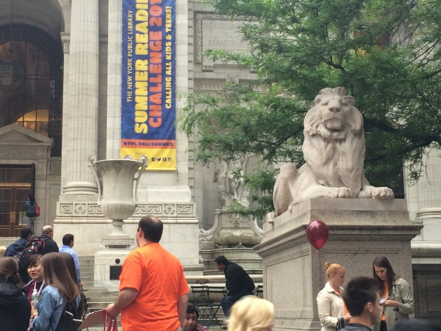 New York Public Library Lion 1