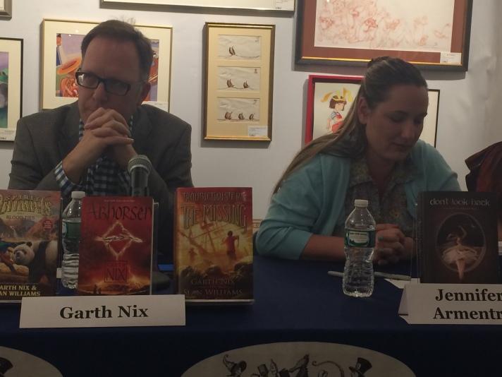 Garth Nix & Jennifer Armentrout
