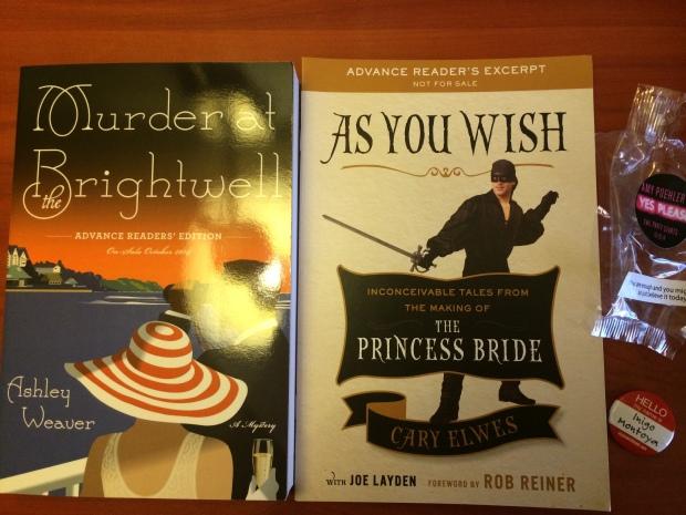 BEA Books + Swag Day 4